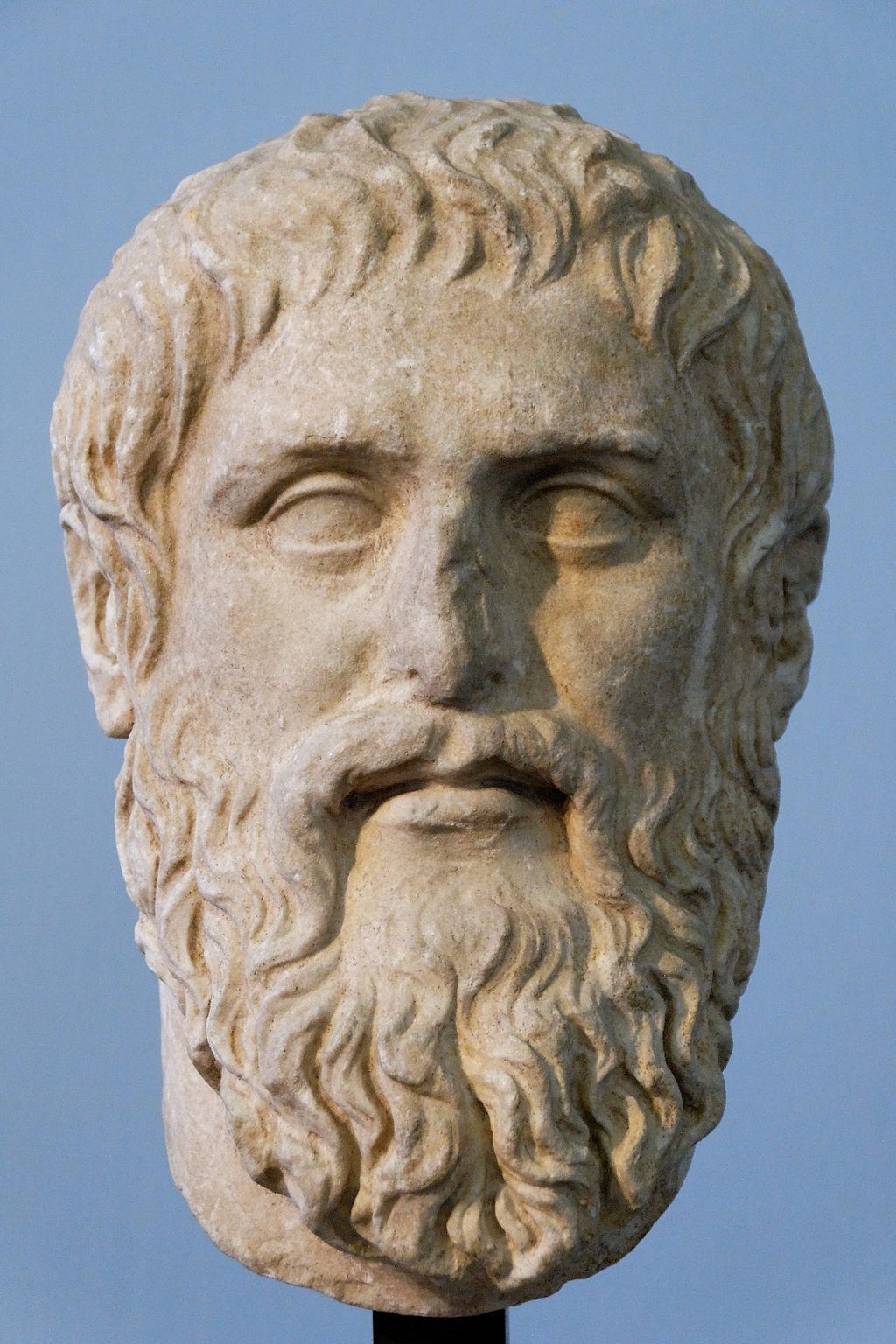 1024Px  Plato  Silanion  Musei  Capitolini  Mc1377