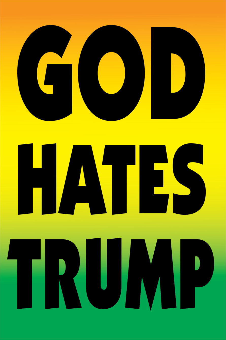 New Proverbs God Hates Trump Badlands Unlimited