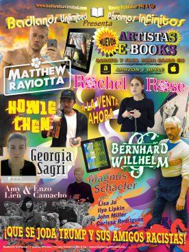 Paramos Infinitos: 2016 Artist E-Book Poster